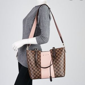 LOUIS VUITTON Damier Magnolia TaurillonJersey Tote